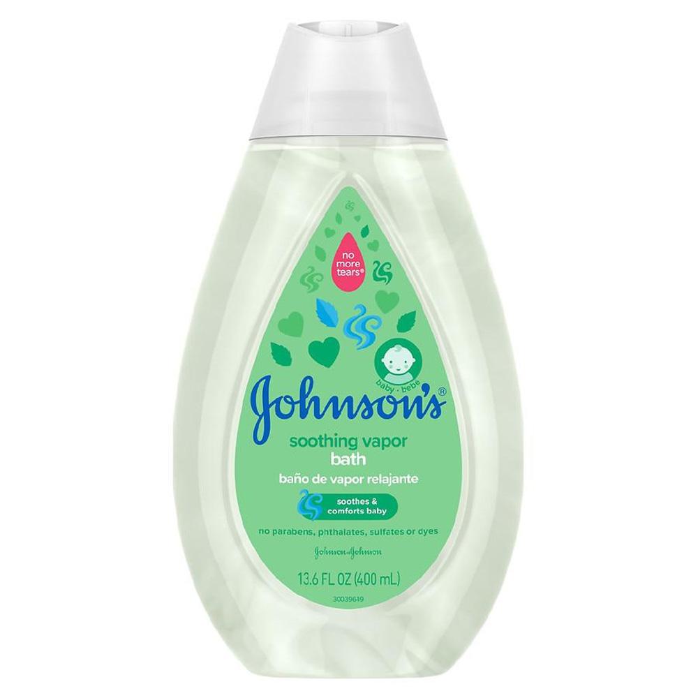 Espuma de Banho Soothing Vapor Bath 400ml Johnson's
