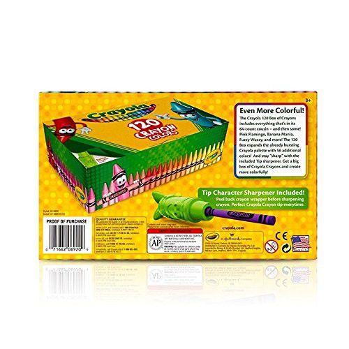 Giz de Cera 120 Cores Crayola