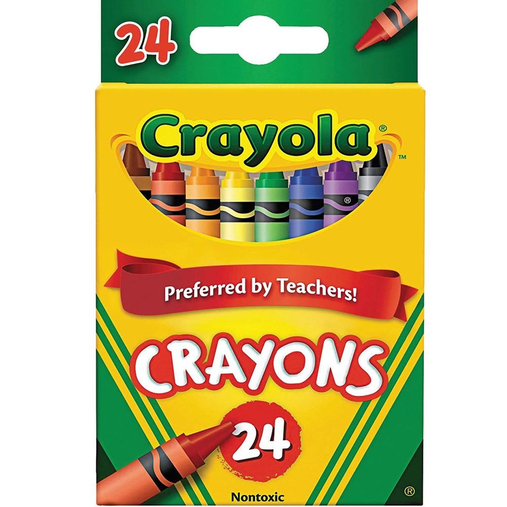 Giz de Cera 24 Cores Crayola