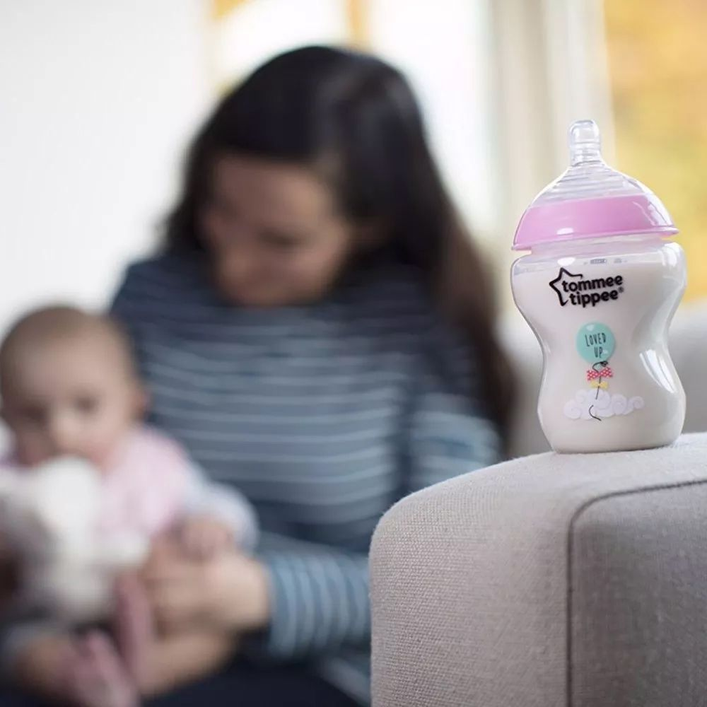KIT 2 MAMADEIRAS CLOSER TO NATURE ROSA 260ML +0M TOMMEE TIPPEE
