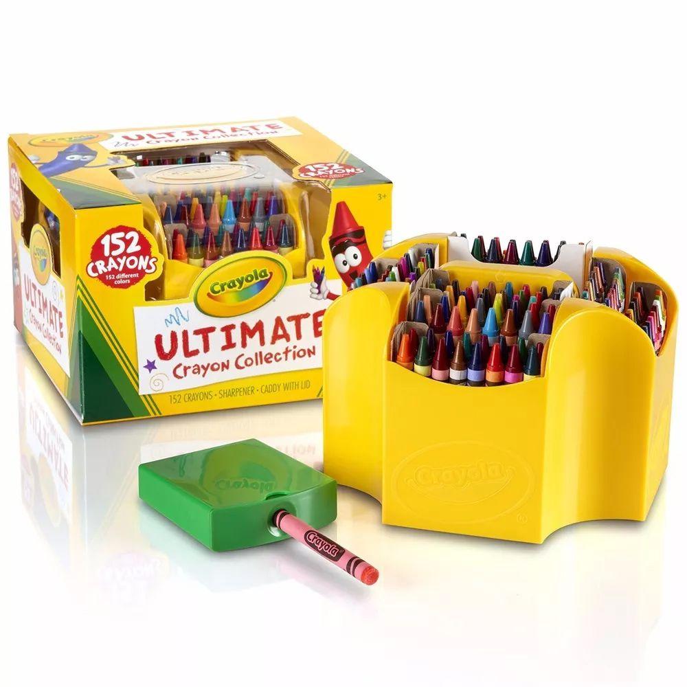 Kit Giz de Cera 152 Cores Crayola