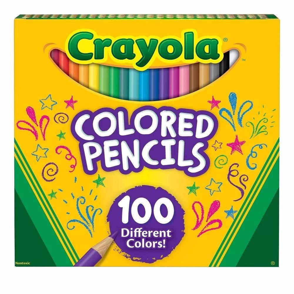 Lápis De Cor 100 Cores Crayola