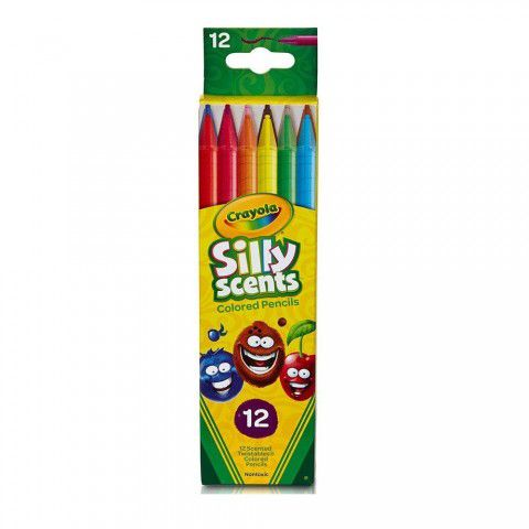 Lapiseira Twistable Silly Scents 12Cores Crayola