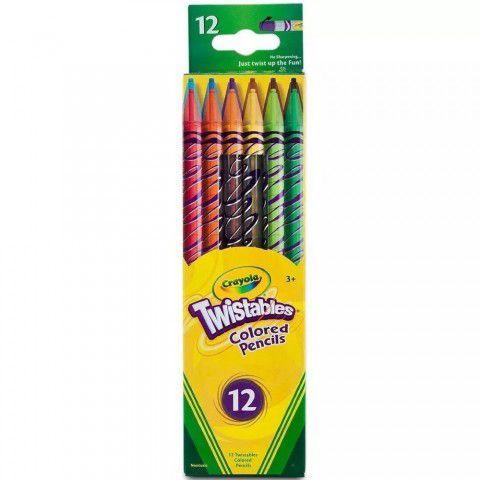 Lapiseira Twistables 12 Cores Crayola