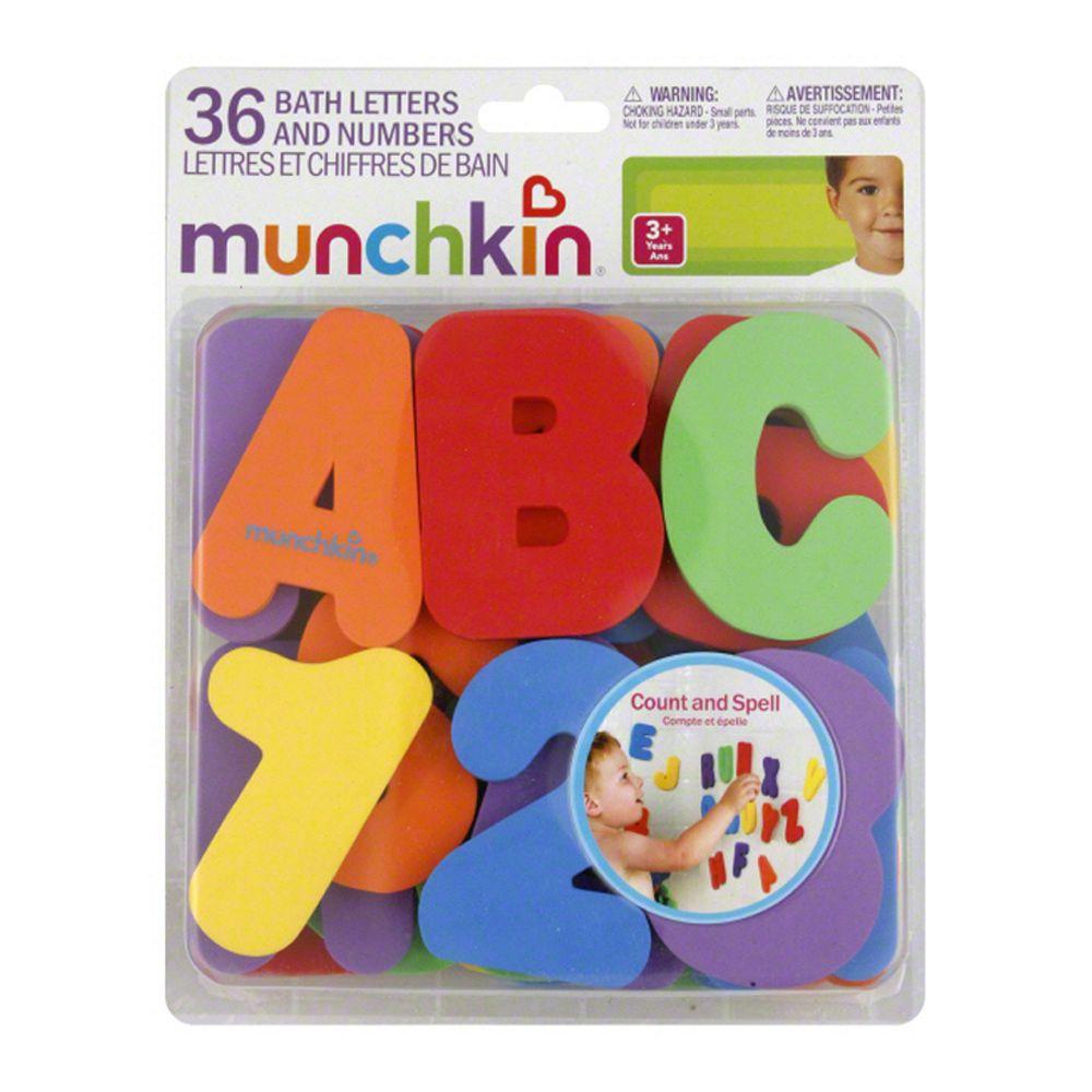 Letras e Números 36peças Munchkin