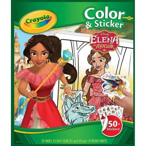 Livro de Colorir Elena de Avalor Crayola