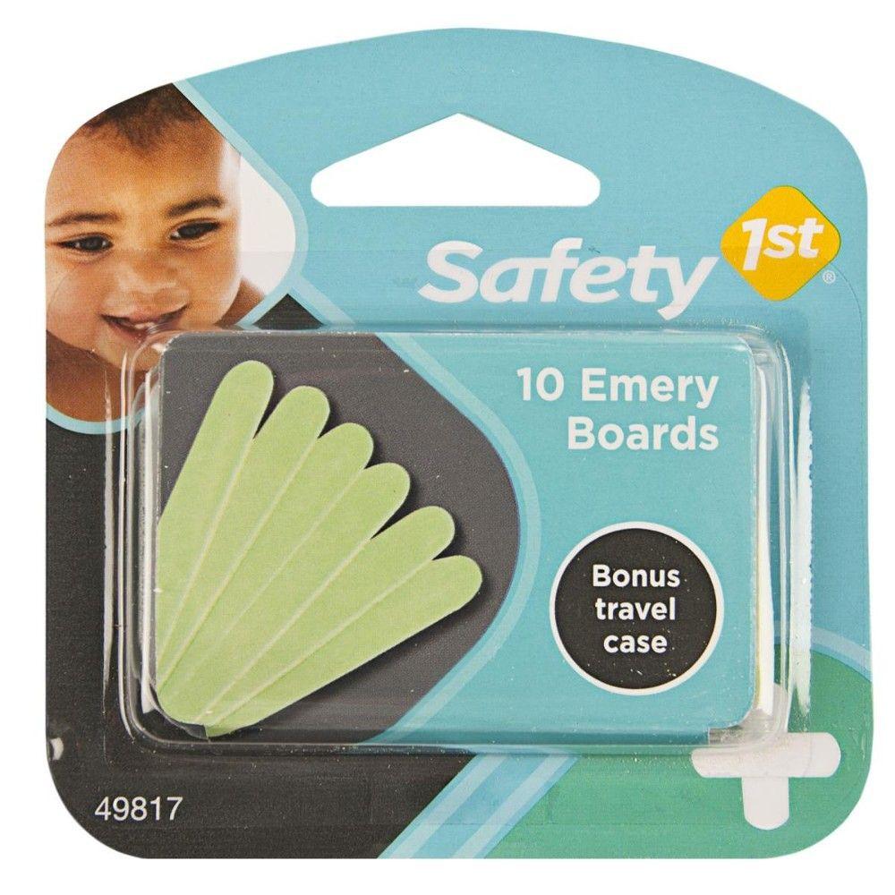 Lixa de Unha Para Bebês c/10 Safety 1st