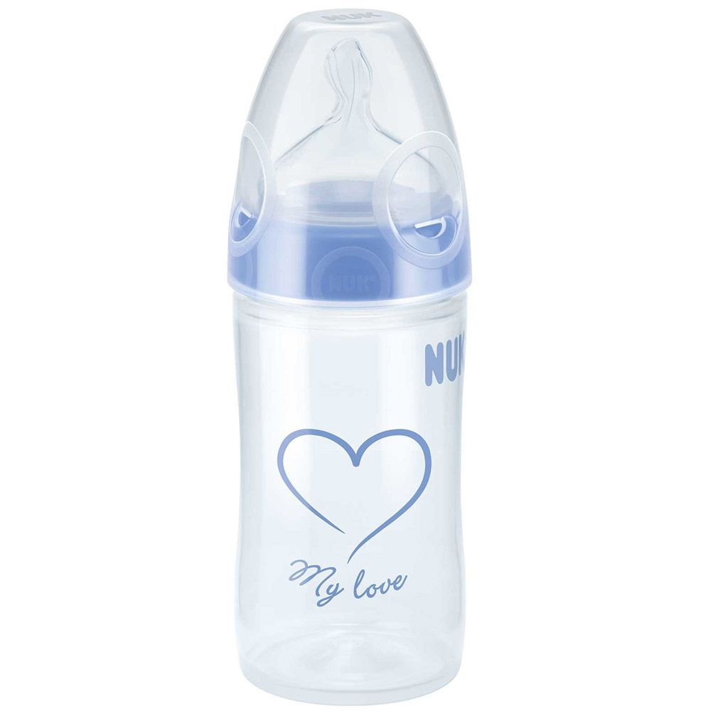 Mamadeira Evolution 150ml +0m Azul Nuk