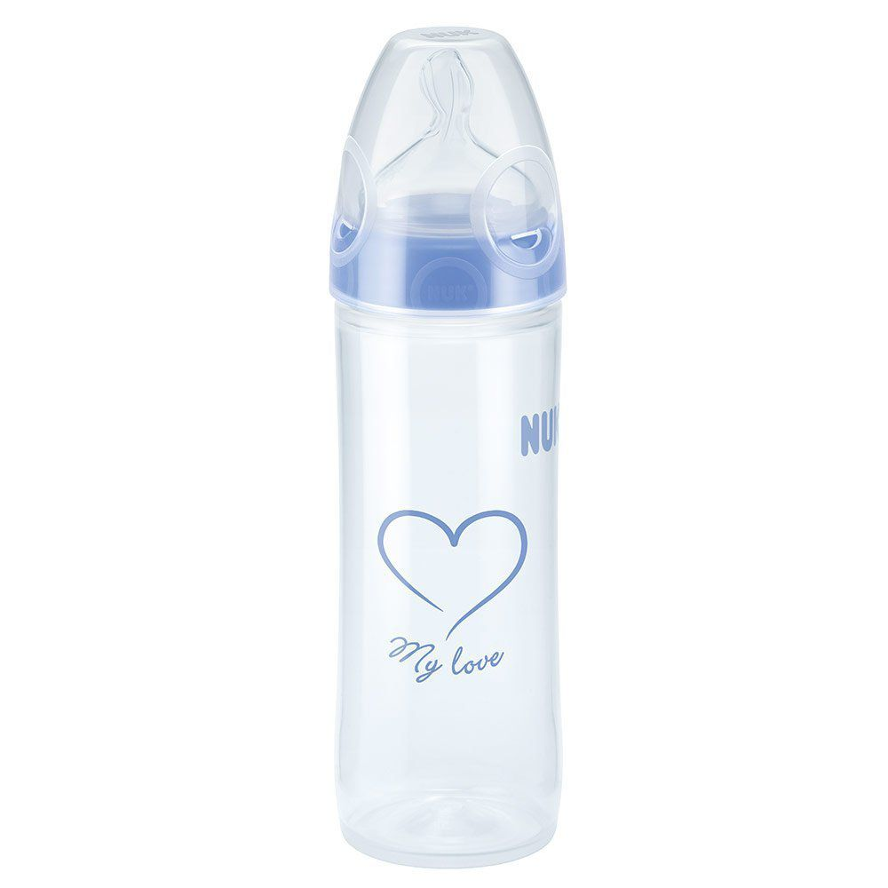 Mamadeira Evolution 250ml +6m Azul Nuk