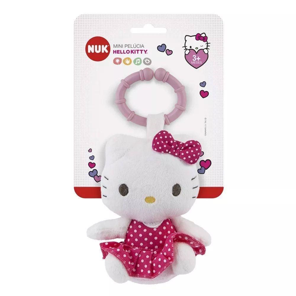 Mini Pelúcia de Atividades Hello Kitty Nuk