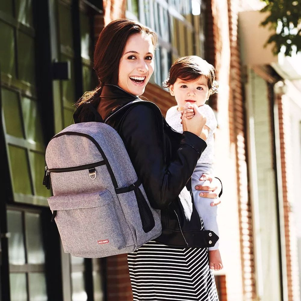 Mochila Diaper Bag Duo Signature Skip Hop