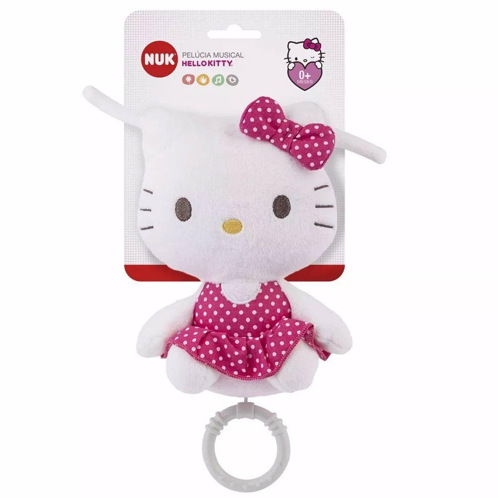 Pelúcia Musical Hello Kitty Nuk