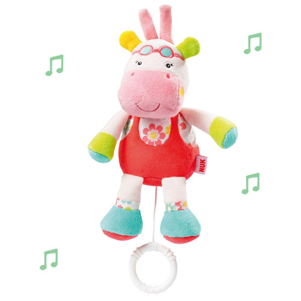 Pelúcia Musical Hippo Nuk