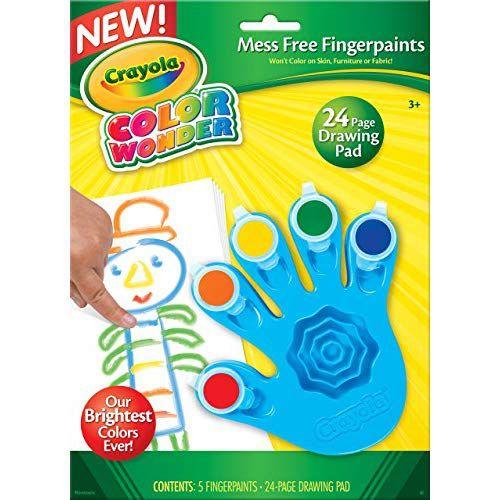 Pintura a Dedo Color Wonder Crayola