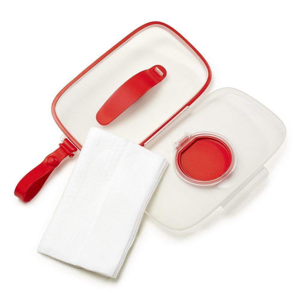 Porta Lenço Umidecido Wipes Case Vermelho Skip Hop