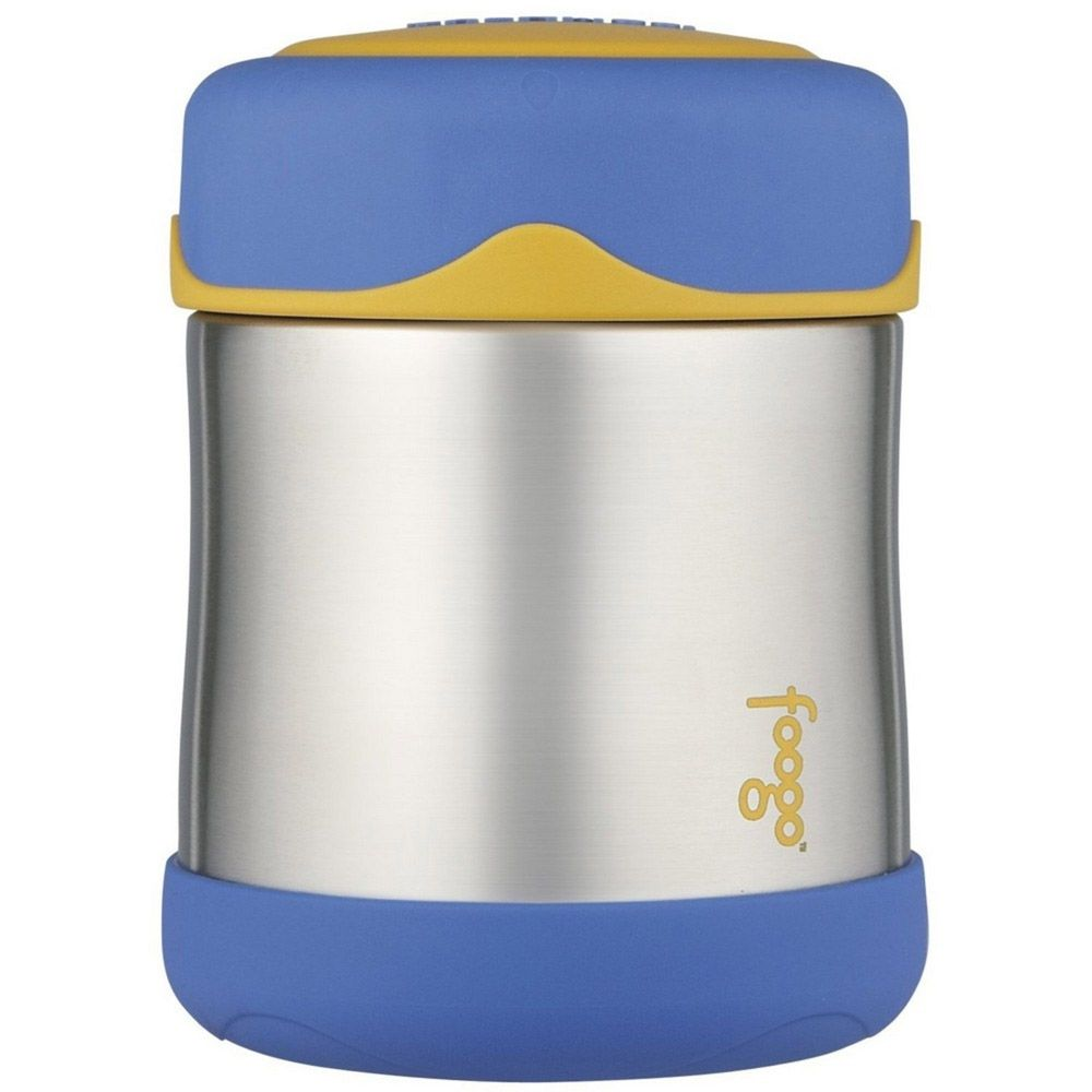 Pote Térmico Foogo 290ml Azul/Amarelo Thermos