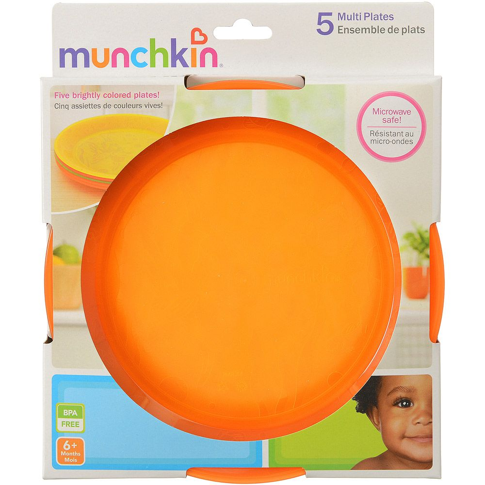Pratos Coloridos c/5 Munchkin