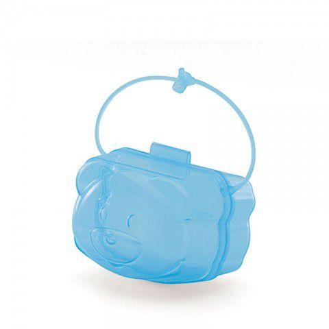 Protetor de Chupetas Azul Translúcido Adoleta