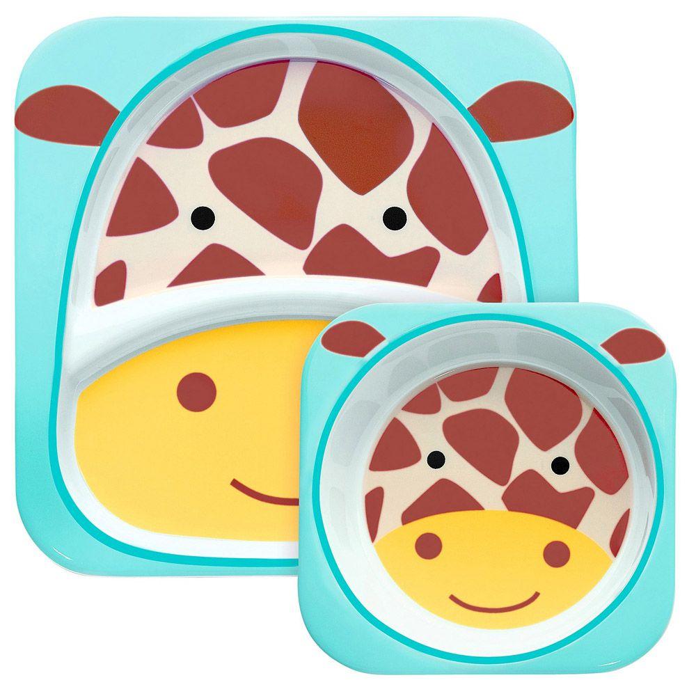 Set De Pratos Girafa Skip Hop