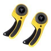 2 Cortador Circular Manual Profissional 60mm Para Papel, Vinil