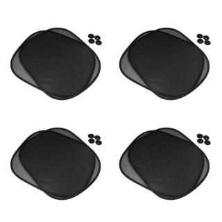 4 Pares de Protetor Lateral para Vidro de Carro - Tapa Sol