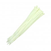 Abraçadeiras De Nylon Para Lacre Brancas 4,8mmx350mm Brasfort