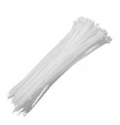 Abraçadeiras De Nylon Para Lacre Branca 7,6mm X 400mm