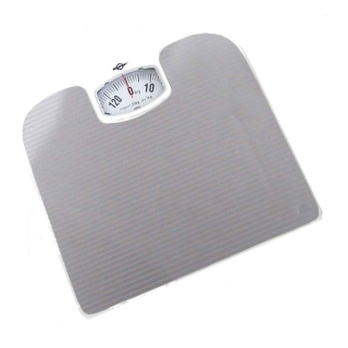 Balança Mecânica com Capacidade de 130kg Cinza Para Controlar Peso