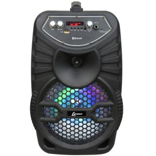 Caixa de Som Amplificada Bluetooth Rádio Usb 120W Bivolt Lenoxx