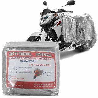 Capa Para Cobrir Moto Escapamento Impermeável Proteção G