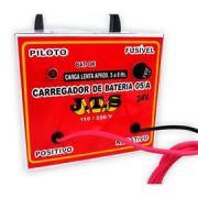Carregador De Bateria Portátil Porte Pequeno - 110/220v Jts