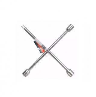 Chave de Roda em Cruz Universal para Veículos - 3 Bocas e Encaixe Para Soquete- Waft
