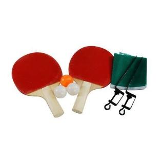 Conjunto Ping Pong Completo Tênis De Mesa Raquetes Bolinhas Rede Western