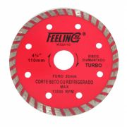 Disco De Corte Diamantado Turbo 110mm