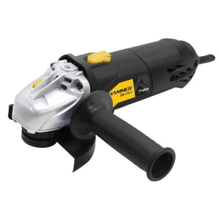 Esmerilhadeira Angular 4.1/2 Pol 710W Preta 127V Hammer