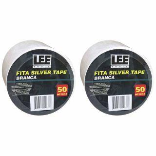 Fita Silver Tape Branca 50 Metros Leetools (2 unidades)