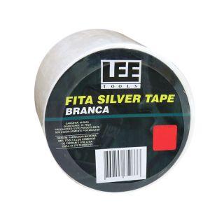 Fita Silver Tape Branca 50 Metros Leetools