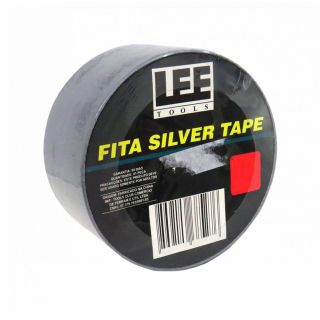 Fita Silver Tape Cinza 50 Metros Leetools