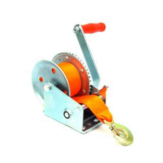 Guincho Manual com Catraca 630kg Para Içamento Rebocar Manutenção Suspensão de Cargas