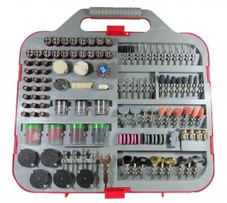 Kit Acessórios Para Mini  e Micro Retífica com 250 Peças 670715 Lee Tools