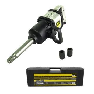 Kit Chave De Impacto Pneumática 1 Pol Com 2 Soquetes 32 e 33mm Eda BG3