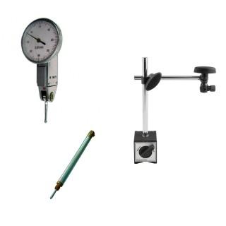 Kit Relógio Apalpador Base Magnética e Suporte