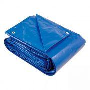 Lona Azul Fina Encerado de Polietileno 4M X 3M 100GSM 130 Micras Brasfort
