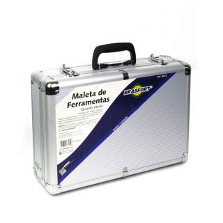 Maleta Ferramentas Alum. Brasfort Media 8312 42,5x12x28CM