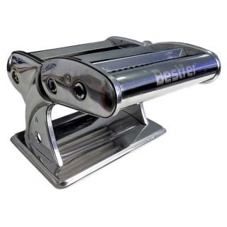 Máquina Manual para Macarrão 3 Tipos de Massa 2 Lâminas Inox