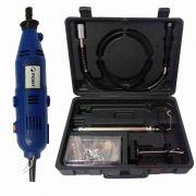 Kit Micro Retífica Com 120 Acessórios 150w 220v