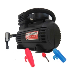 Mini compressor portátil analógico 12 volts