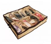 Sapateira Organizadora Flexível De Sapatos Para 12 Pares