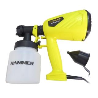 Pistola Pintura Pulverizadora Elétrica 400W 800ml Hammer