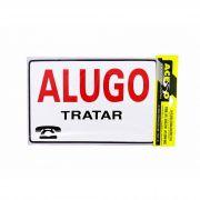 Placa de Aviso Alugo (E)
